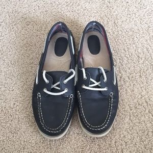 BASS Navy Boating shoes